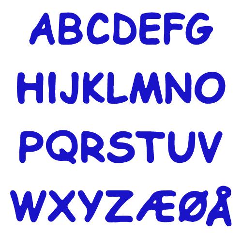 Reflektierende Buchstaben Aufkleber Kindernamen