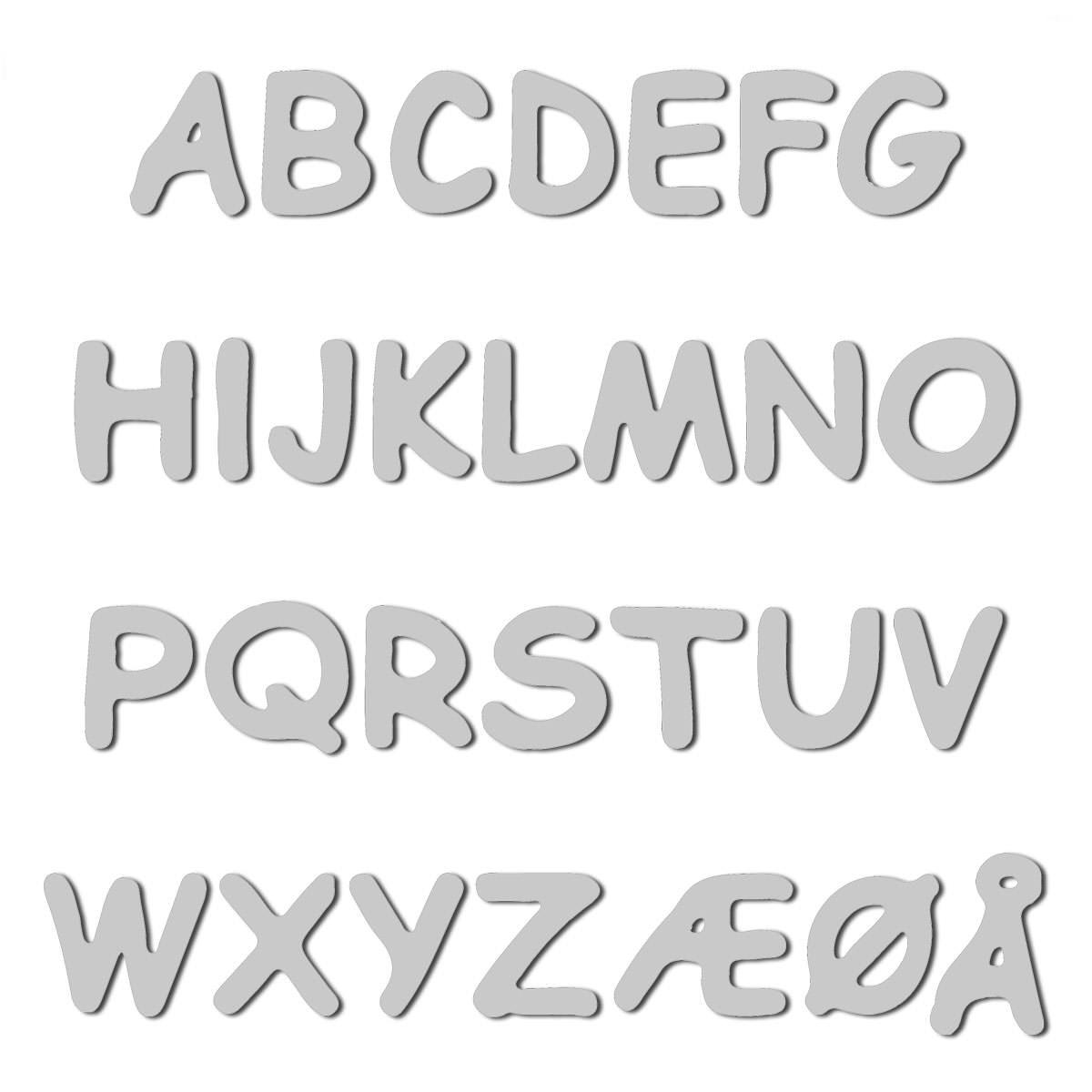 Buchstaben / Namen zum Aufbügeln