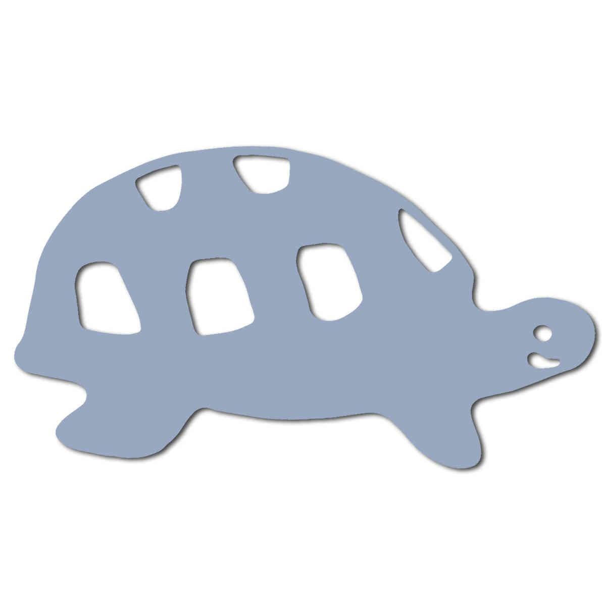 Kindergarten Bügeletiketten Schildkröte reflektierend