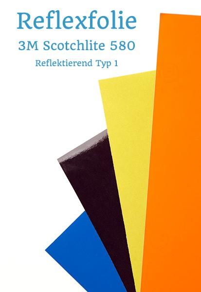 reflexfolie 3m scotchlite 580 a4 zuschnitt. Black Bedroom Furniture Sets. Home Design Ideas