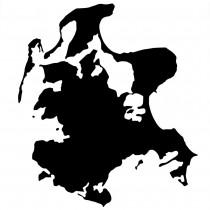 Insel Rügen Autoaufkleber