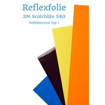 Reflexfolie 3M Scotchlite 580
