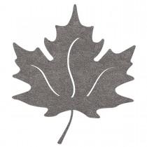 Sticker Herbsblatt reflektierender Aufkleber