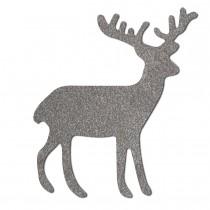Sticker Weihnachten Rentier reflektierend