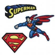Superman Aufbügler Bügelmotiv für Kinder