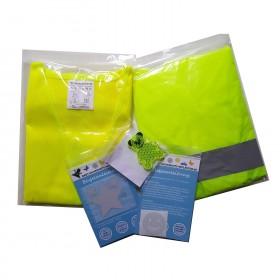Sicherheits-Set für Schulkinder, 5-tlg. mit Warnweste & Reflektoren