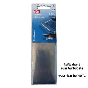 Reflexband zum Aufbügeln 1,2 m
