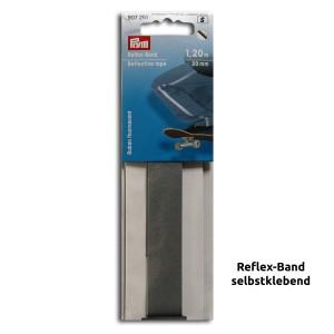 Reflexstreifen selbstklebend 1,2 m x 20 mm