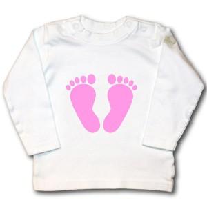 Bügelmotiv Babyfüße online kaufen