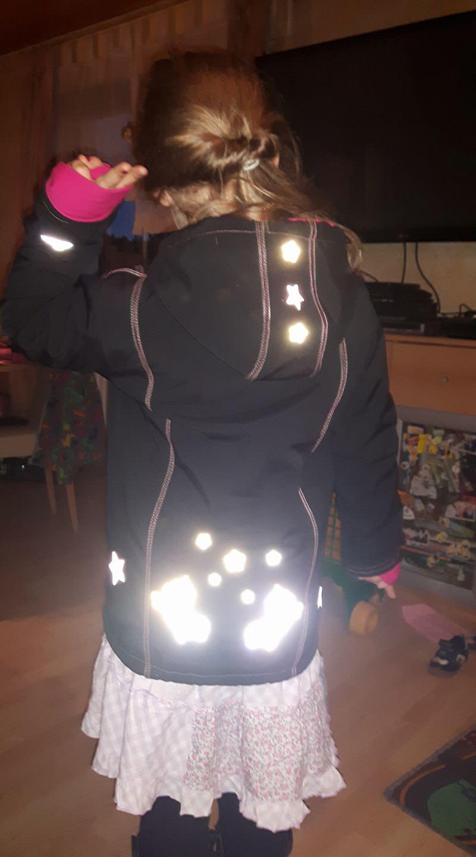 Reflektor Einhorn leuchtet
