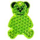 Reflektierender Teddybär Anhänger für Schulranzen