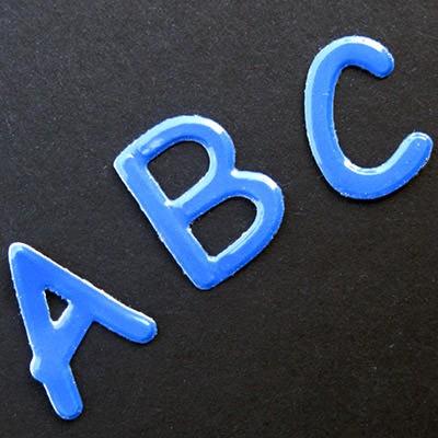 Buchstaben Aufkleber Kindernamen