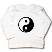 Yin Yang Zeichen als Aufbügler