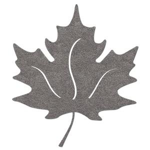 Bügelbild Herbst Blatt Reflekor
