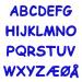 Autoaufkleber Kindernamen Buchstaben Alphabet