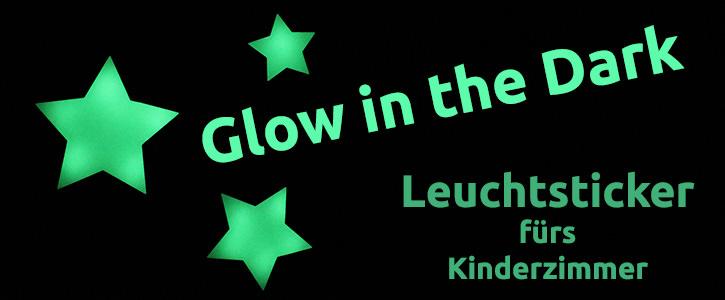 Leuchtende Aufkleber und Sticker für Kinderzimmer als Wandtattoo kaufen